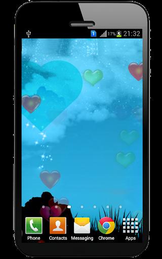 Love Hearts Live Wallpaper