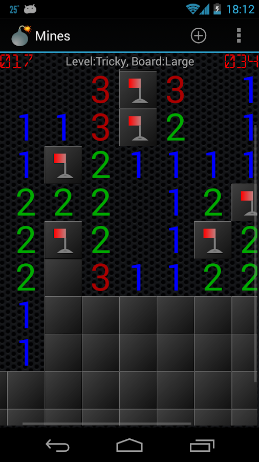 Mines (Minesweeper)- screenshot