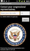 Screenshot of Contact Congress