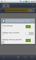Screenshot of Touch Me - Assistive Touch