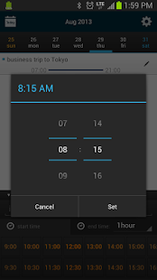 Fast Scheduler/Calendar - screenshot thumbnail