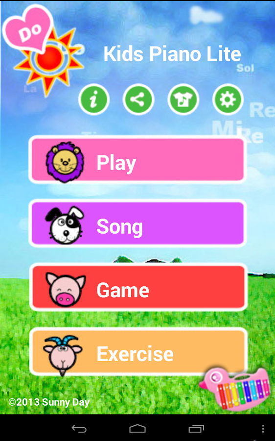 Kids Piano Lite - screenshot