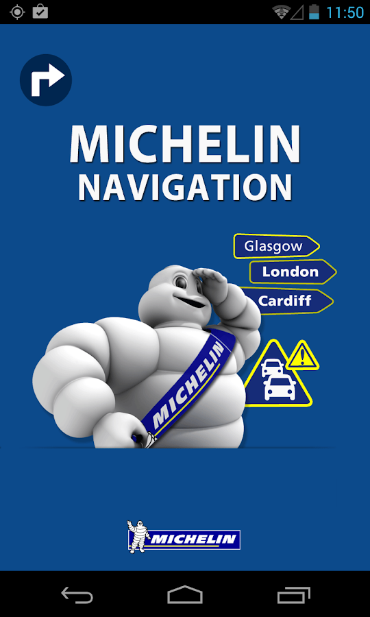 Michelin Navigation - screenshot