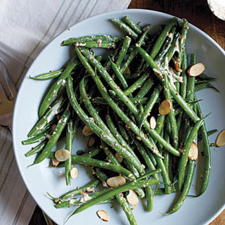 Green Bean Salad with Mustard Crema