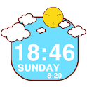 Sunshine Clock Widget icon