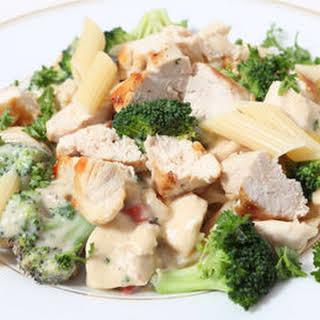 Chicken and Broccoli-Parmesan Pasta.