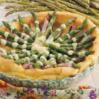 Asparagus Hollandaise Puff