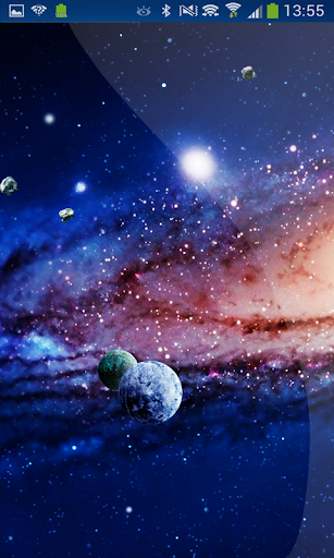 Awesome Word Planets Sky HD