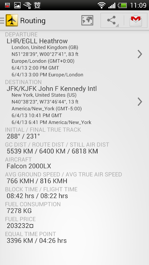 Airport Distance - screenshot