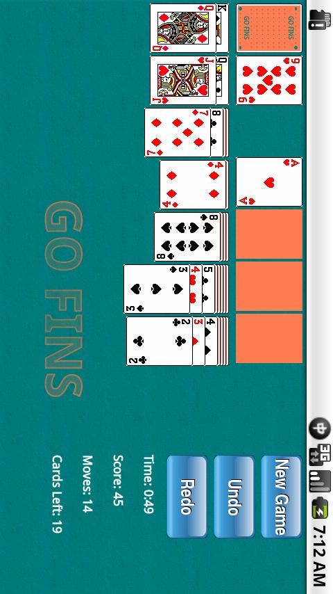 NFL Solitaire - screenshot