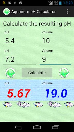 Aquarium pH Calculator