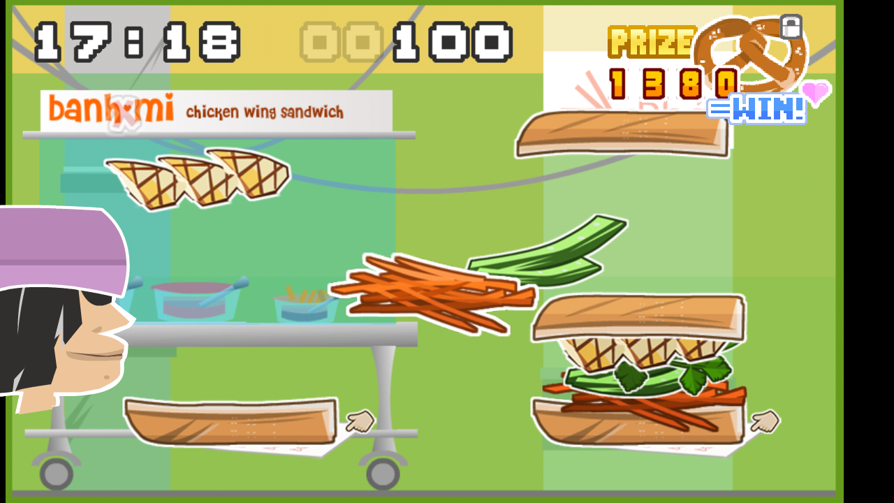Banh Mi Sandwich Game- screenshot