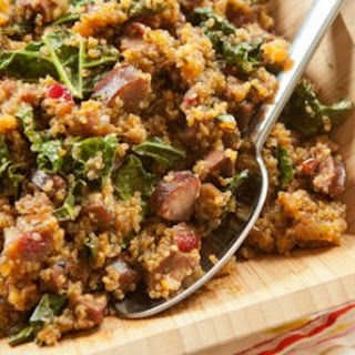 Sausage and Quinoa One-Pot Supper.
