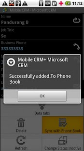 Contact Manager MS CRM- screenshot thumbnail