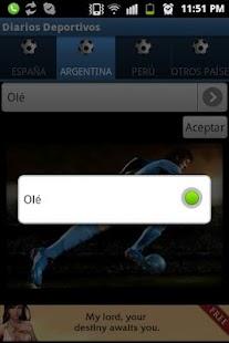 Diarios Deportivos - screenshot thumbnail