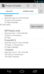 Project Schedule Free- screenshot thumbnail