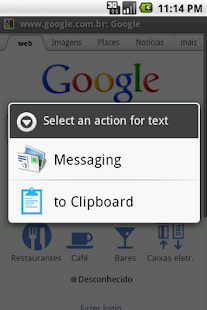 Android Clipboard - screenshot thumbnail