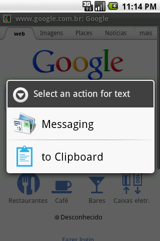 Android Clipboard - screenshot