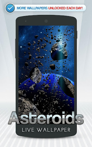 小行星動態壁紙