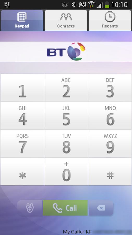 BT One Voice anywhere - screenshot