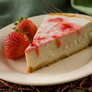 Berry Swirl Cheesecake.