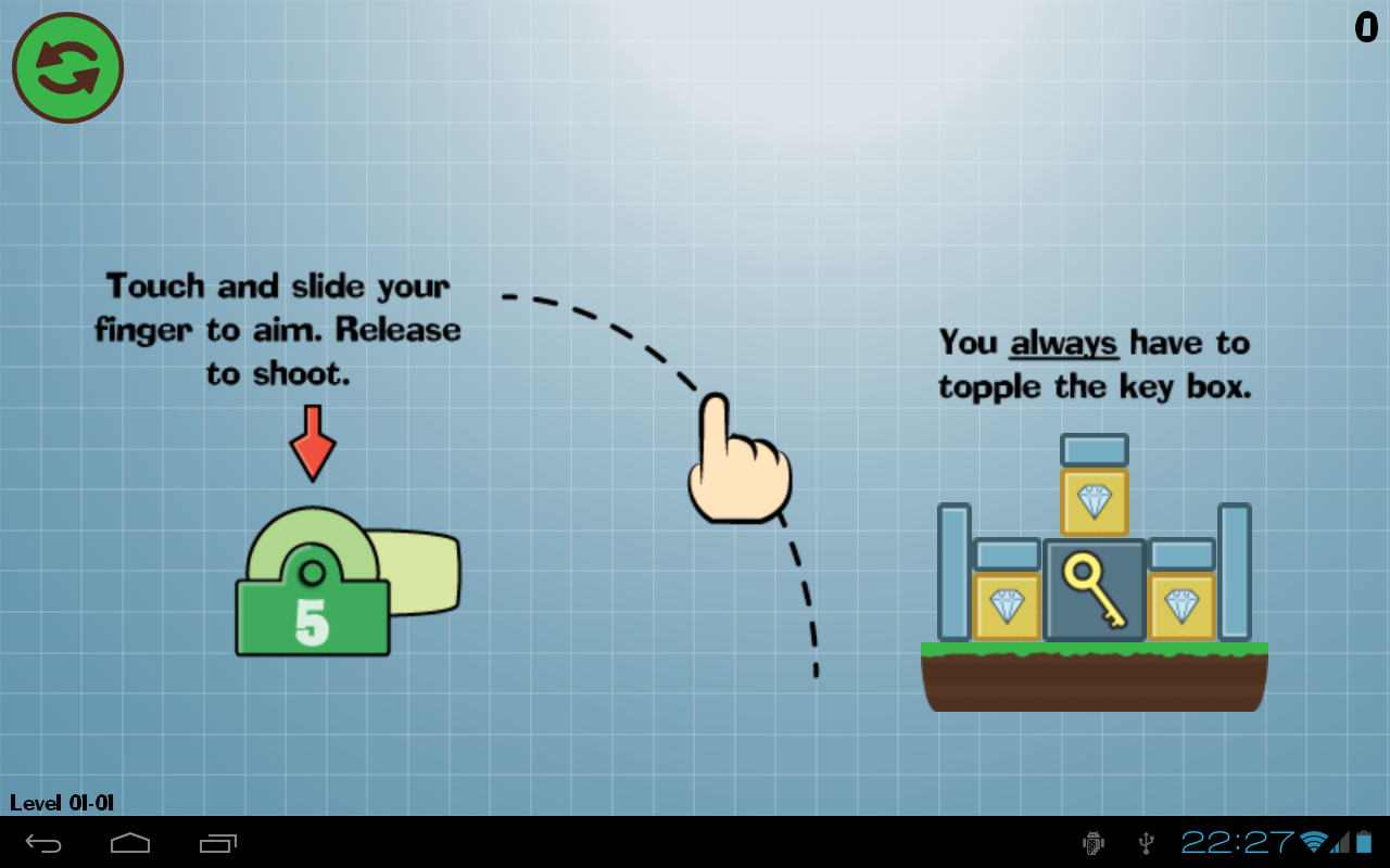 Box Topple - Knockdown!- screenshot