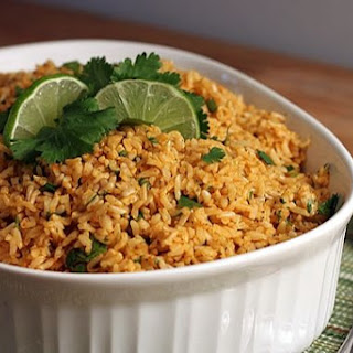 Cilantro Lime Basmati Brown Rice.