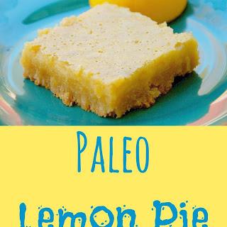 Paleo Lemon Bars.