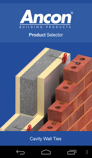 UK Wall Tie Product Selector