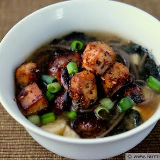 Loaded Miso Soup.