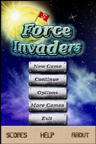 Force  Invaders Demo- screenshot