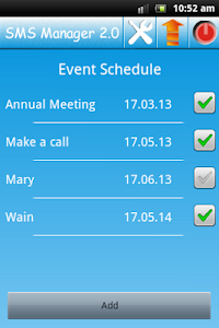 Event Scheduler screenshot 0