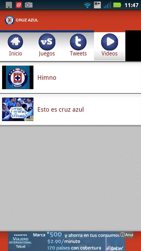 Cruz Azul SDM - screenshot