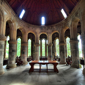 St.Conans Kirk on Loch Awe by Martin Hughes - Buildings & Architecture Public & Historical