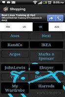 Screenshot of Shopping - mobile