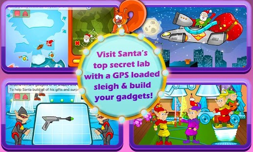 Super Santa XMAS Story & Games - screenshot thumbnail
