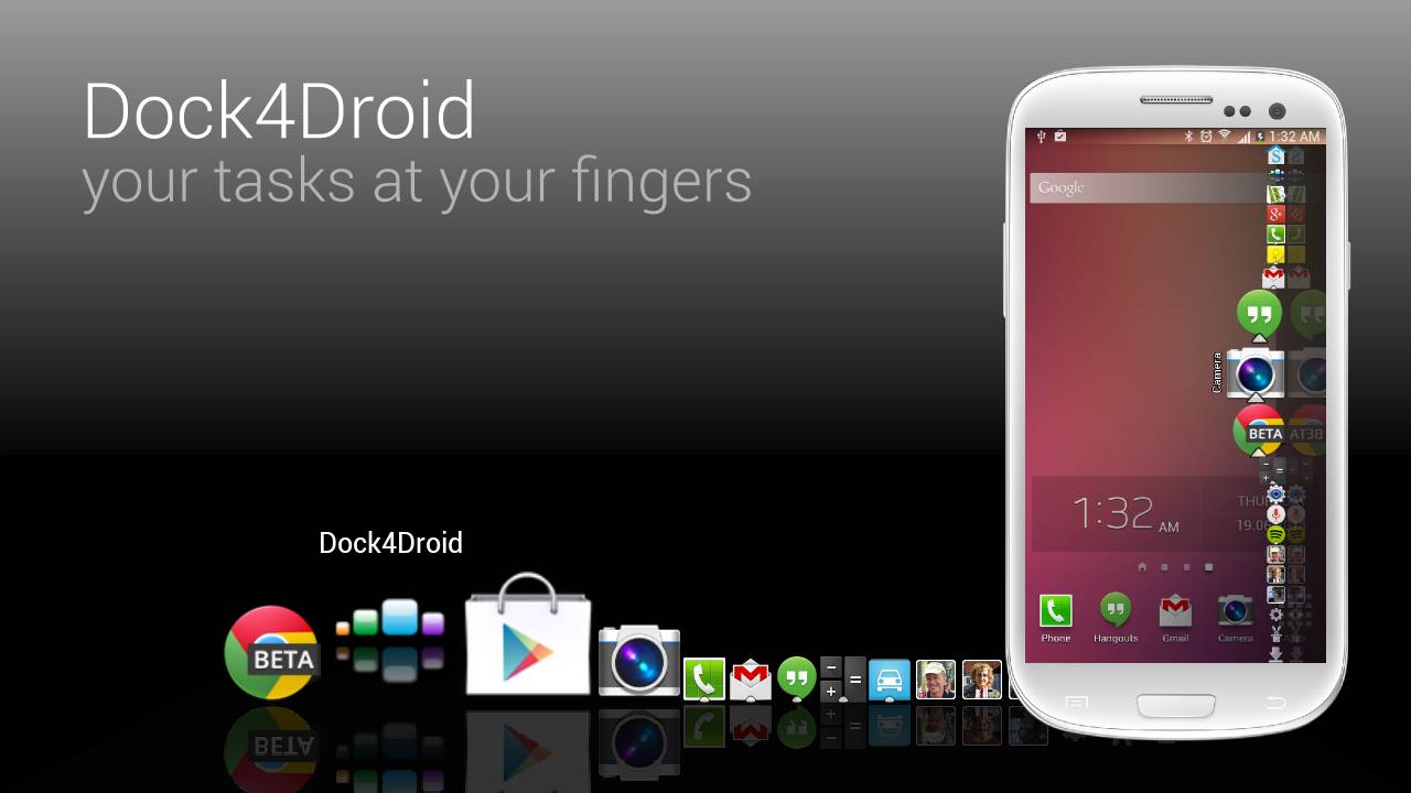 Dock4Droid- screenshot