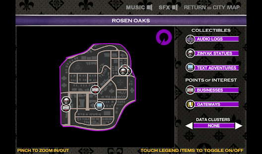 Saints Row 4 Official Map App - screenshot thumbnail