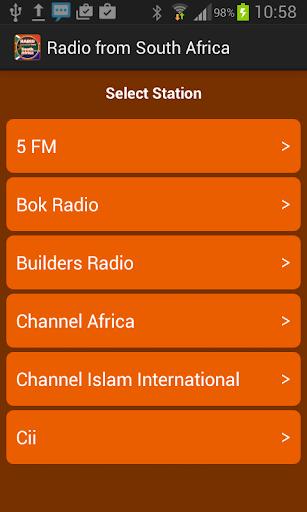 來自南非廣播