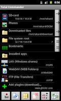 Screenshot of WebDAV plugin-Total Commander