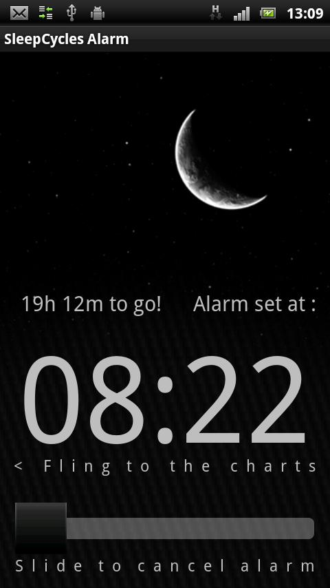 Sleep Cycles Alarm Free - screenshot