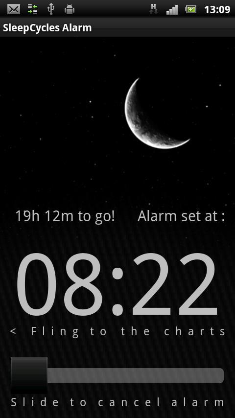 Sleep Cycles Alarm Free - screenshot