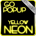 Yellow Neon GO Popup theme