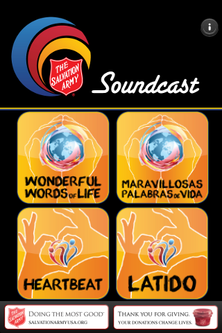 Soundcast- screenshot