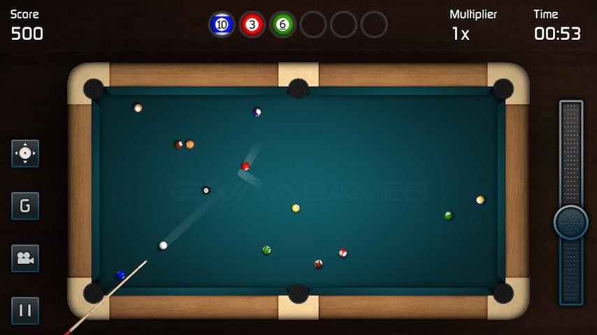 3D Pool Game- screenshot