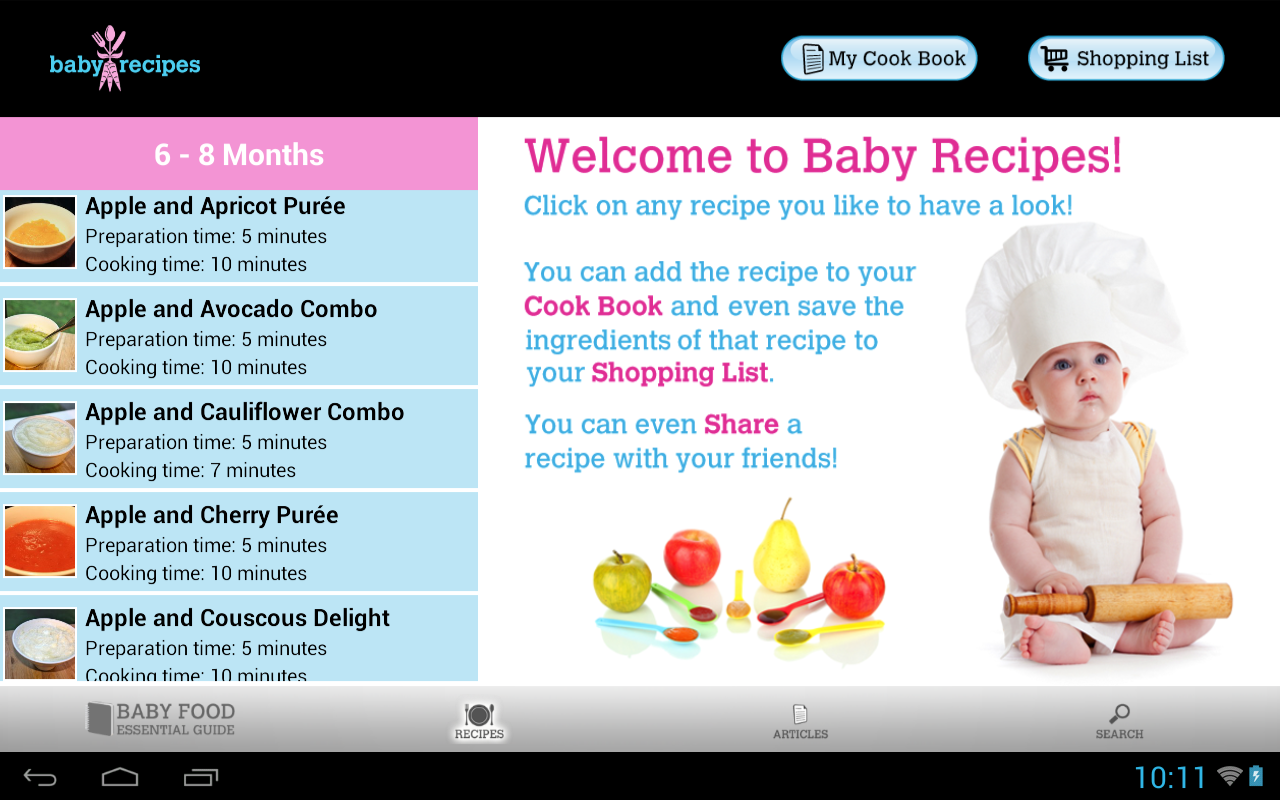 Baby recipes health android apps on google play baby recipes health screenshot forumfinder Image collections