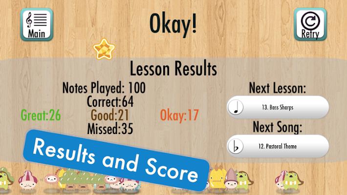 Note Teacher Kids - screenshot