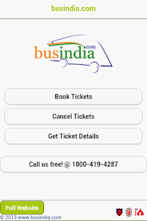 Bus India Mobile App- screenshot thumbnail