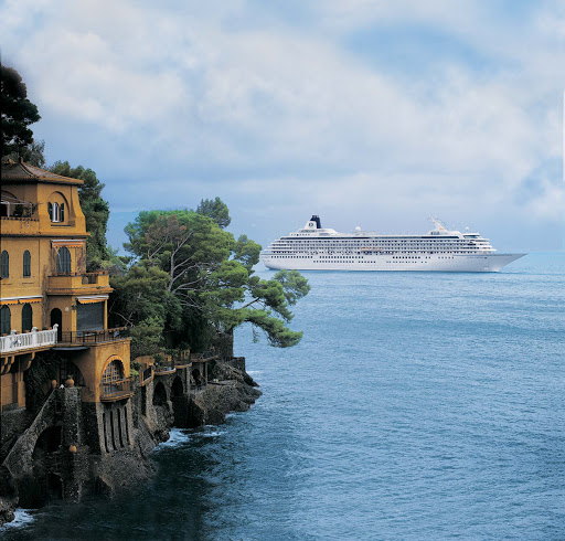 Crystal_Symphony_Portofino2 - Explore the lovely city of Portofino, Italy, when Crystal Symphony visits Italy.