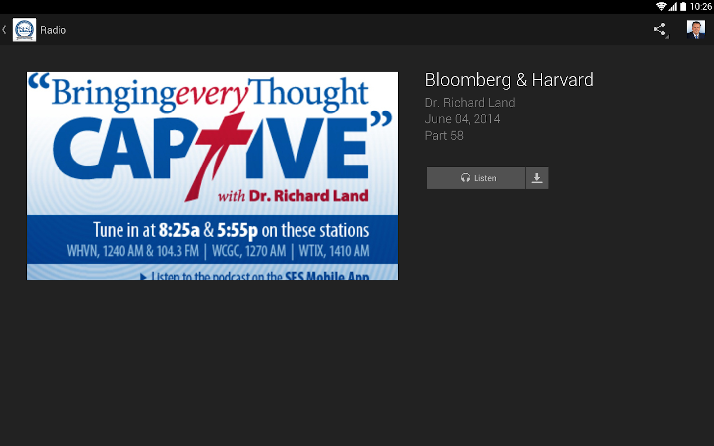 SES Apologetics App- screenshot